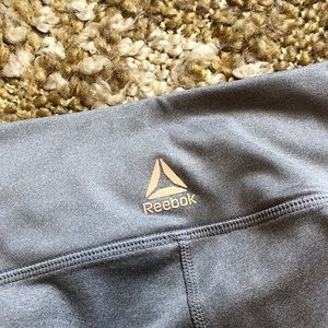 Reebok Other - Reebok Gray Capri Leggings